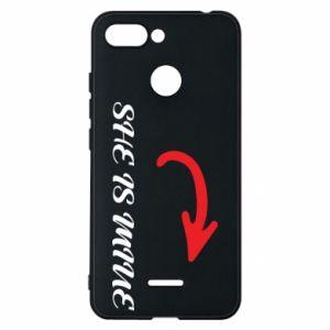 Phone case for Xiaomi Redmi 6 She is mine