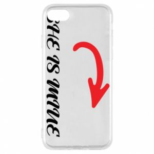 Phone case for iPhone 7 She is mine