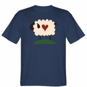 Koszulka męska Sheep with heart