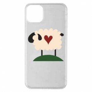 Etui na iPhone 11 Pro Max Sheep with heart