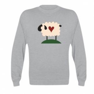 Bluza dziecięca Sheep with heart