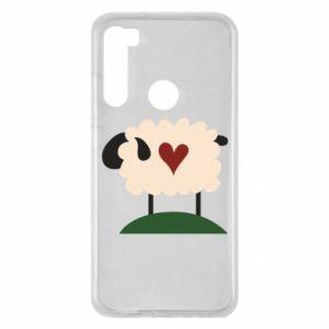 Etui na Xiaomi Redmi Note 8 Sheep with heart