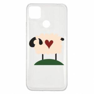 Etui na Xiaomi Redmi 9c Sheep with heart