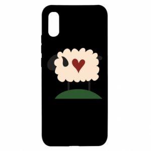 Etui na Xiaomi Redmi 9a Sheep with heart