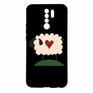 Etui na Xiaomi Redmi 9 Sheep with heart