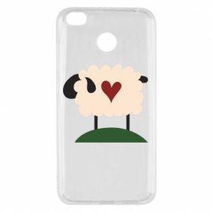 Etui na Xiaomi Redmi 4X Sheep with heart