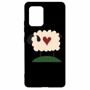 Etui na Samsung S10 Lite Sheep with heart