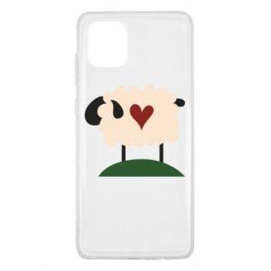 Etui na Samsung Note 10 Lite Sheep with heart
