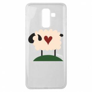 Etui na Samsung J8 2018 Sheep with heart