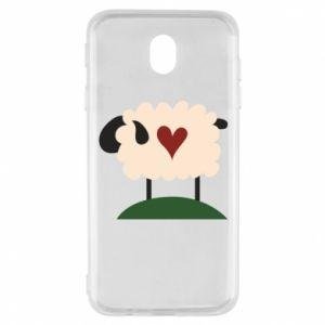 Etui na Samsung J7 2017 Sheep with heart