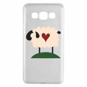 Etui na Samsung A3 2015 Sheep with heart