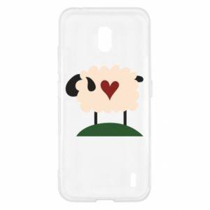 Etui na Nokia 2.2 Sheep with heart