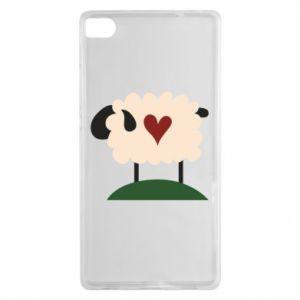 Etui na Huawei P8 Sheep with heart