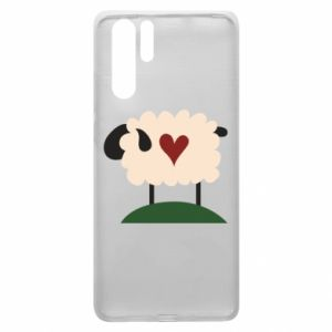 Etui na Huawei P30 Pro Sheep with heart