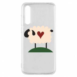 Etui na Huawei P20 Pro Sheep with heart