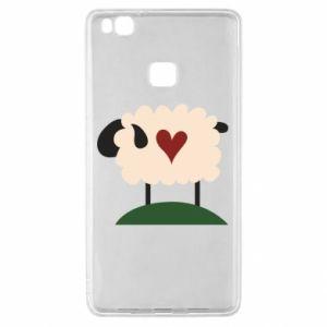 Etui na Huawei P9 Lite Sheep with heart