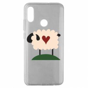 Etui na Huawei Honor 10 Lite Sheep with heart