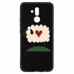 Etui na Huawei Mate 20 Lite Sheep with heart