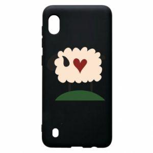 Etui na Samsung A10 Sheep with heart