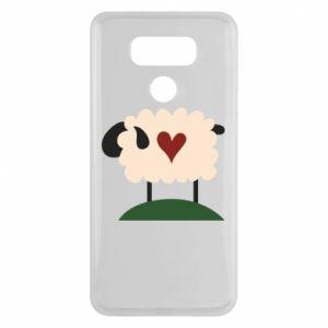 Etui na LG G6 Sheep with heart