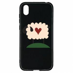 Etui na Huawei Y5 2019 Sheep with heart