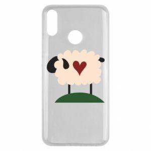 Etui na Huawei Y9 2019 Sheep with heart