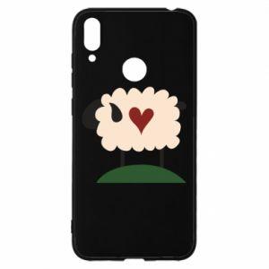 Etui na Huawei Y7 2019 Sheep with heart