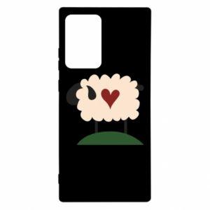 Etui na Samsung Note 20 Ultra Sheep with heart