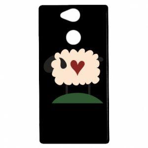 Etui na Sony Xperia XA2 Sheep with heart