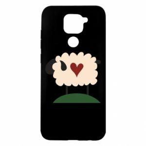 Etui na Xiaomi Redmi Note 9/Redmi 10X Sheep with heart