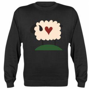 Bluza Sheep with heart