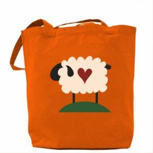 Torba Sheep with heart