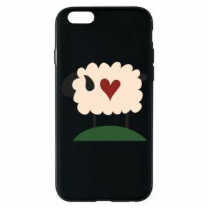 Etui na iPhone 6/6S Sheep with heart