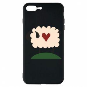 Etui do iPhone 7 Plus Sheep with heart