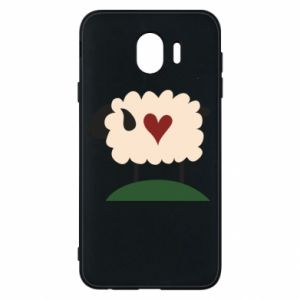 Etui na Samsung J4 Sheep with heart