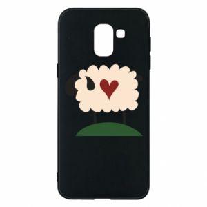 Etui na Samsung J6 Sheep with heart