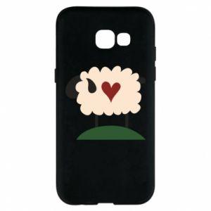 Etui na Samsung A5 2017 Sheep with heart