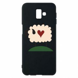 Etui na Samsung J6 Plus 2018 Sheep with heart