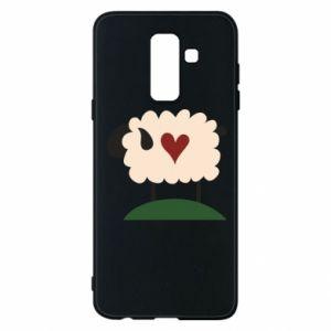 Etui na Samsung A6+ 2018 Sheep with heart