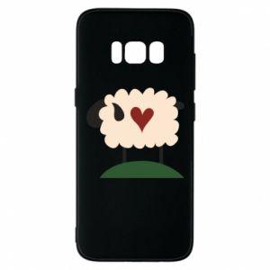 Etui na Samsung S8 Sheep with heart