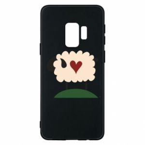 Etui na Samsung S9 Sheep with heart