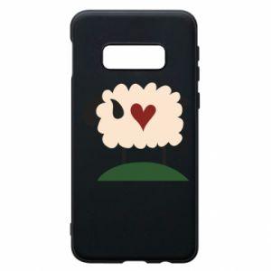 Etui na Samsung S10e Sheep with heart