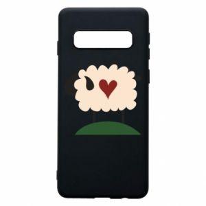 Etui na Samsung S10 Sheep with heart
