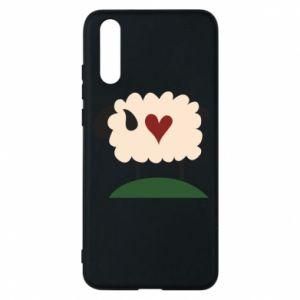 Etui na Huawei P20 Sheep with heart