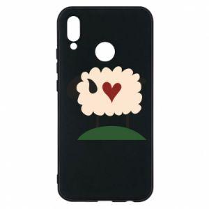 Etui na Huawei P20 Lite Sheep with heart