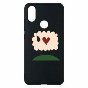 Etui na Xiaomi Mi A2 Sheep with heart