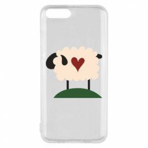 Etui na Xiaomi Mi6 Sheep with heart