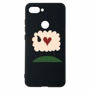 Etui na Xiaomi Mi8 Lite Sheep with heart