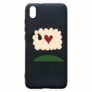 Etui na Xiaomi Redmi 7A Sheep with heart