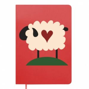 Notes Sheep with heart